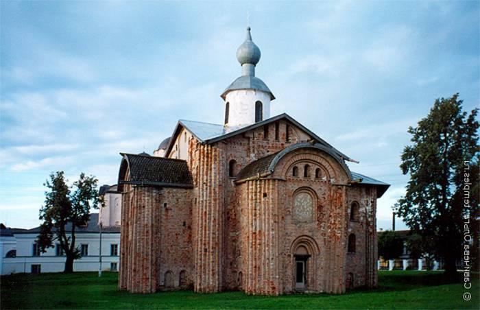 Церковь Параскевы Пятницы в Великом Новгороде. Фото tourprom.ru
