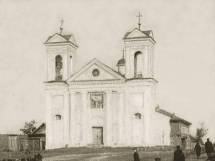 Покровская церковь. Фото Сигизмунда Юрковского конца 19 века. Фото vithram.by