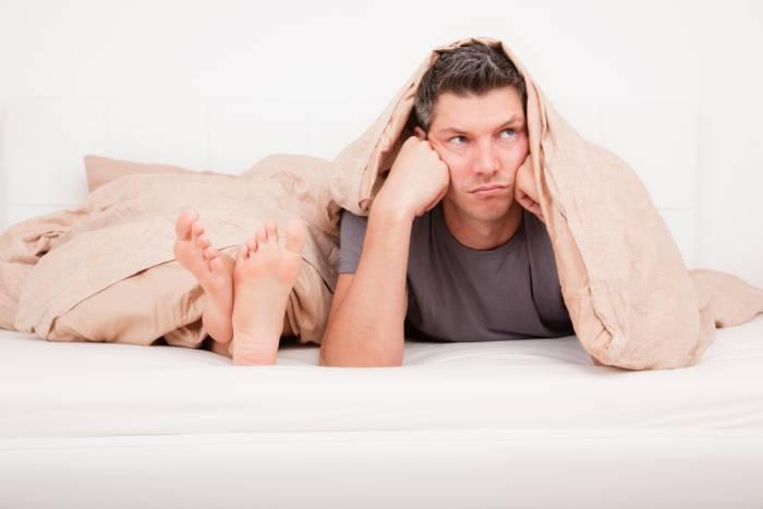 постель мужчина женщина