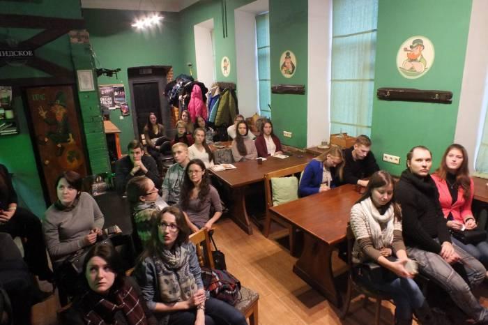 """Встреча со студентами в """"Торвальде"""". Фото Дмитрий Варнашов"""