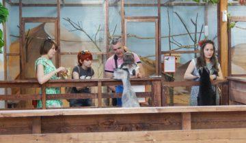 Контактный зоопарк в Витебске. Фото Евгения Москвина