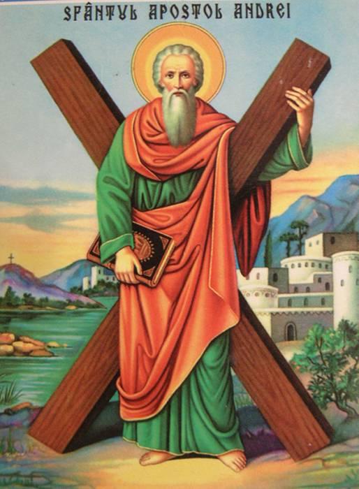 Святой апостол Андрей Первозванный. Фото playcast.ru