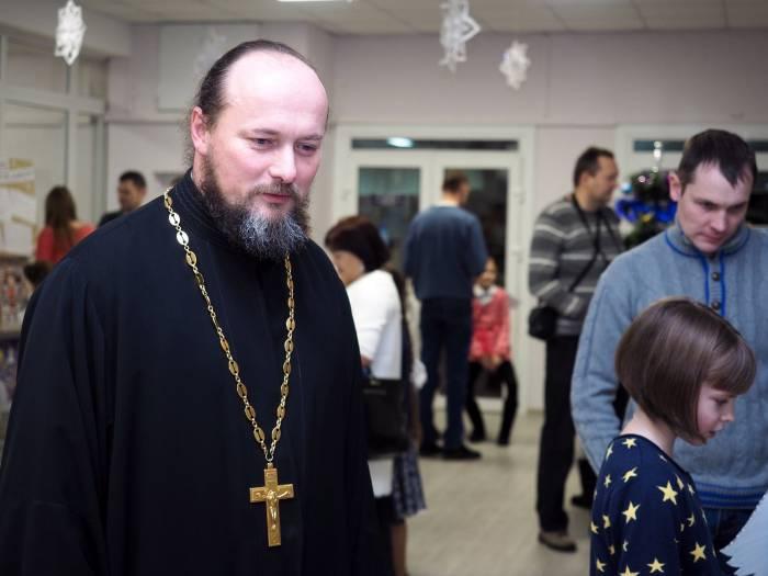 Пресс-секретарь Витебской епархии, протоиерей Андрей Смольский. Фото Светланы Васильевой