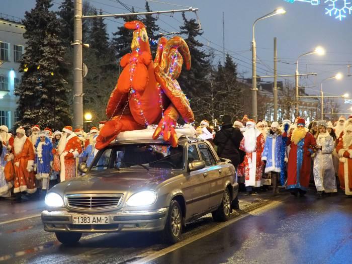 парад Дед морозов