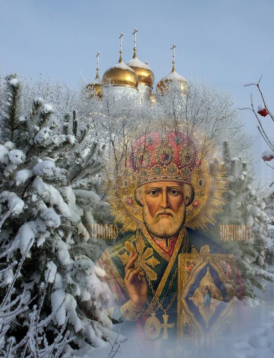 Никола Чудотворец Зимний - один из самых любимых праздников у верующих. Фото livemaster.ru