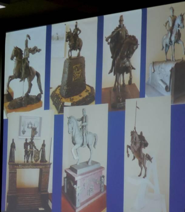 Эскизы памятника князю Ольгерду