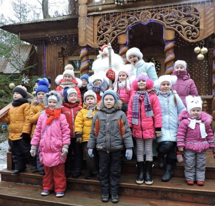 резиденция Деда Мороза, Беловежская пуща