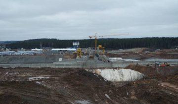 Витебская ГЭС, апрель 2016. Фото Владимир Борков