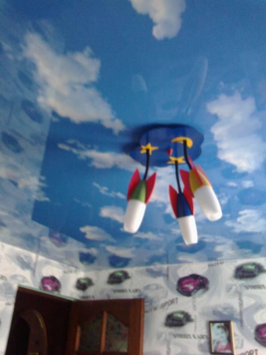 В комнате Артура есть даже 3D поотолки. Фото Натальи Костюченко