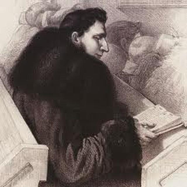 Томаш Зан, студент Виленского университета. Портрет Р.Жуковского