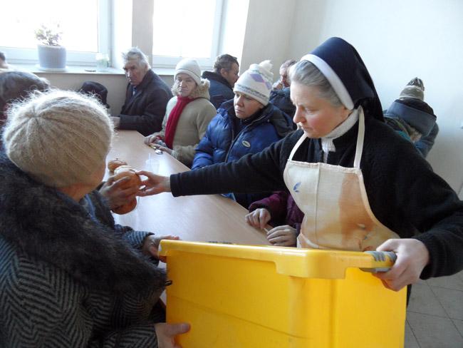 Благотворительная столовая. Фото caritas-vitebsk.by