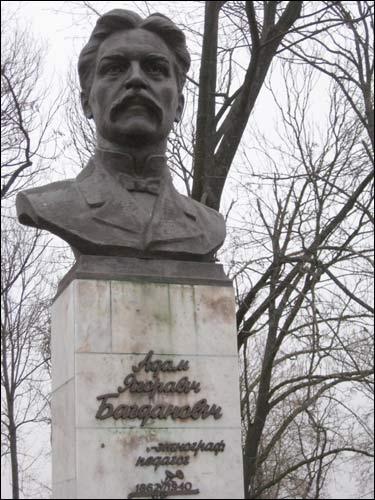 Памятник Адаму Богдановичу. Фото radzima.org