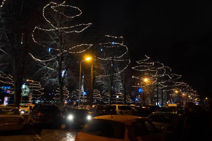 Рига украшена к празднику. Фото Анастасии Вереск