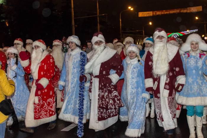 Когда в Витебске будет шествие Дедов Морозов и Снегурочек (изменено)