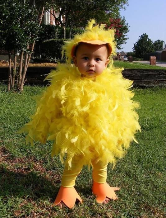 цыпленок ребенок