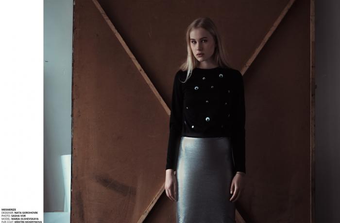 Выглядеть блестяще - модно! Фото из архива Наты Гороховиковой.