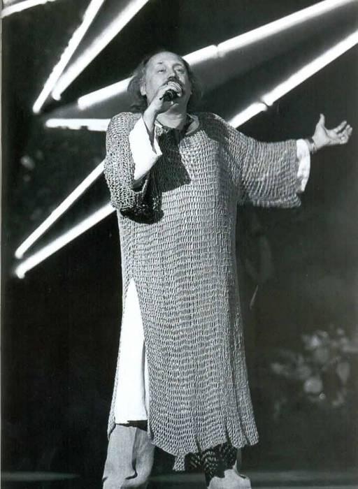 Владимир Мулявин в Витебске. Фото из книги Л. Крушинской «Нота судьбы. Владимир Мулявин»