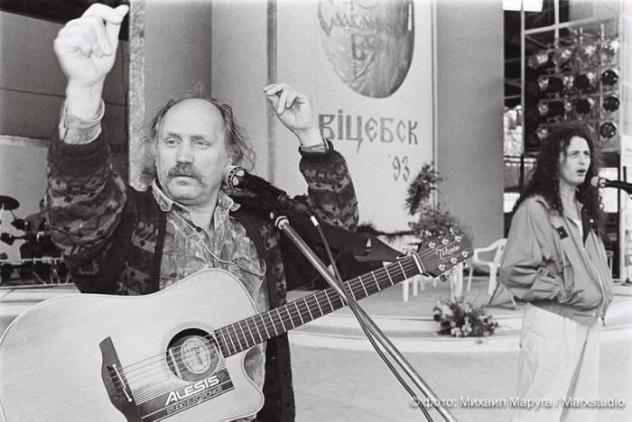 Владимир Мулявин. Витебск, 1993 год. Фото Михаил Маруга