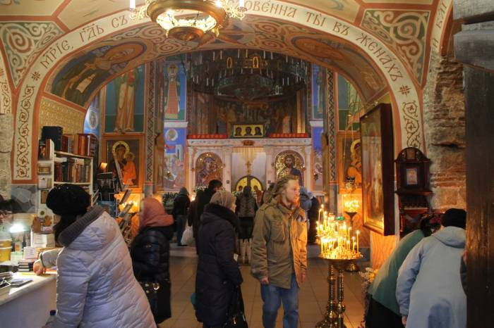 Во всех храмах Витебска на Крещение пройдут праздничные богослужения. Фото Ольги Витебской