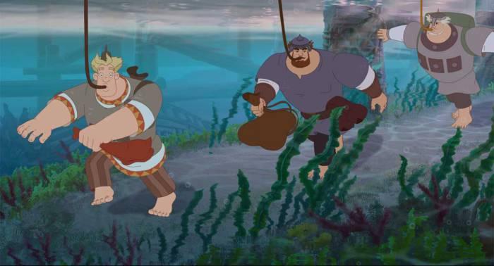 Новые приключения богатырей понравятся и взрослым, и детям. Фото melnitsa.com