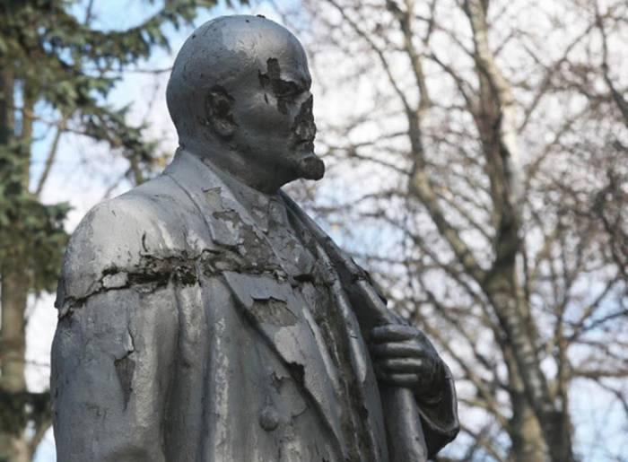 Ленин уже не тот... Фото realt.onliner.by