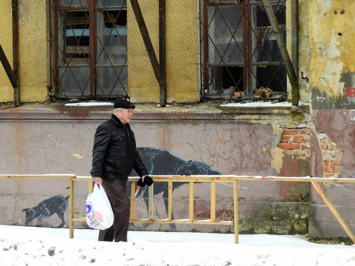Уже много лет, как из этого дома отселили жителей. Фото Светланы Васильевой 5.03.2016