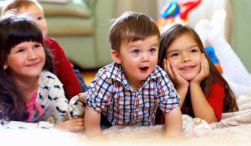 дети телевизор