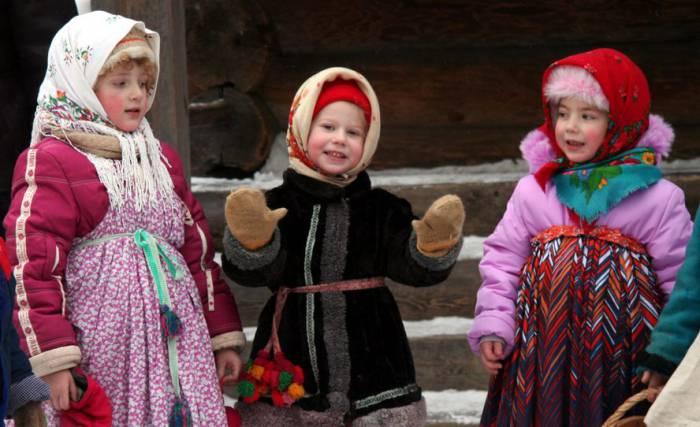 Щедровать могут не только взрослые, но и дети. Фото семейныйлагерь7.рф
