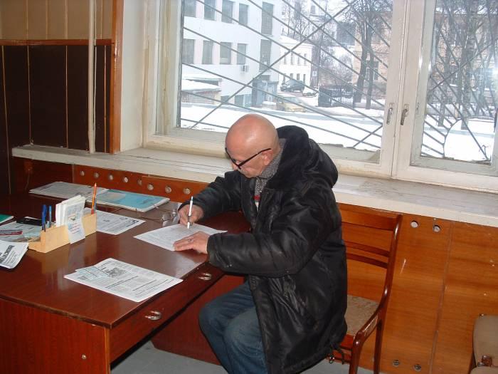 Сбор подписей в самом разгаре. Фото Дарьи Максименко
