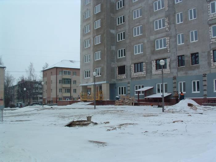 Снаружи здание почти готово. Фото Дарьи Максименко