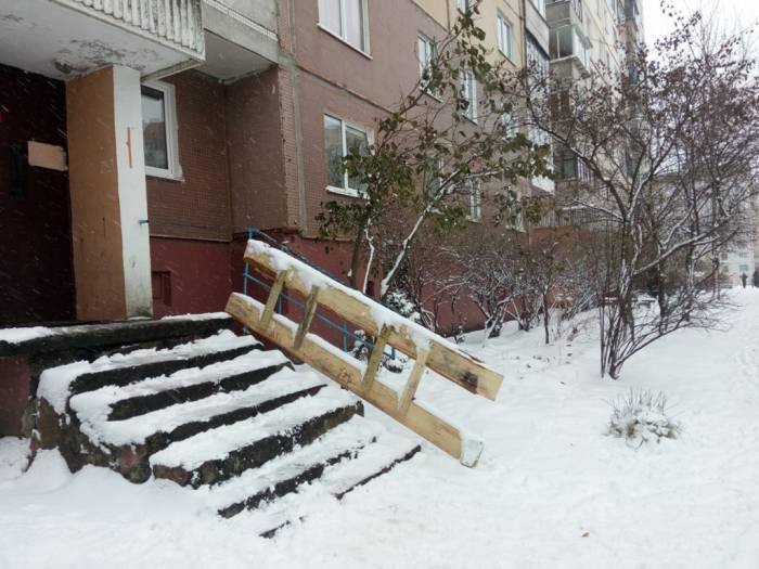 витебск, дом, перила