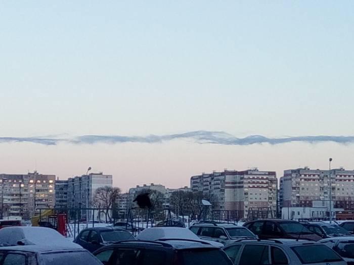 Морозный Витебск. Фото Саши Май