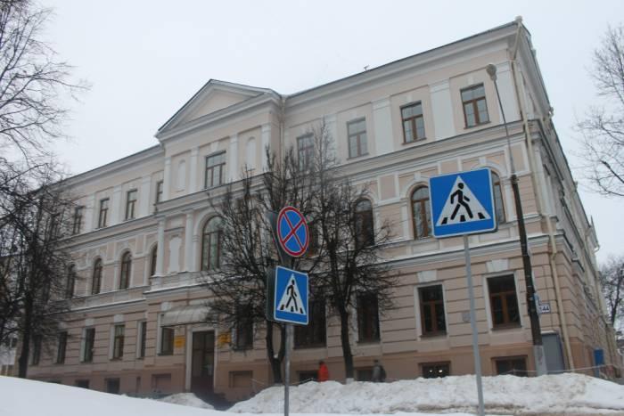 витебск, улица Чехова, здание, вгу машерова