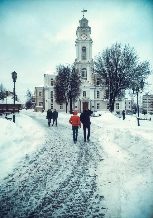 зима ратуша