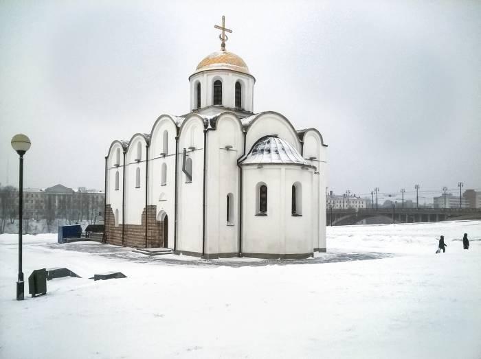 На Рождество в Витебске ожидаются морозы до -22°С. Фото Светланы Васильевой