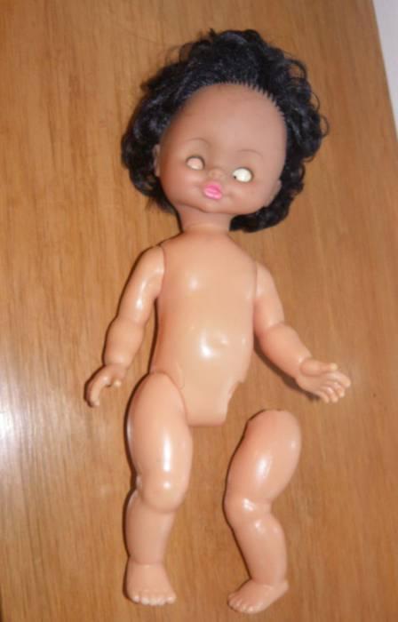Такая кукла попала к Елене до реставрации. Фото из архива Елены Карпицкой