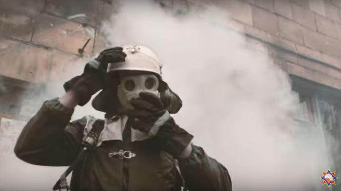Витебск в огне и потрясающее видео от МЧС, которое стоит увидеть
