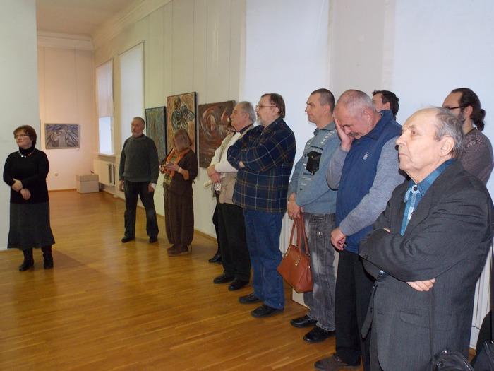 На открытии выставки «Лучи сердца». Фото Георгия Корженевского