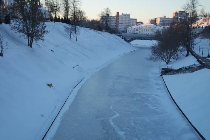 Витьба подо льдом. Фото Анастасии Вереск