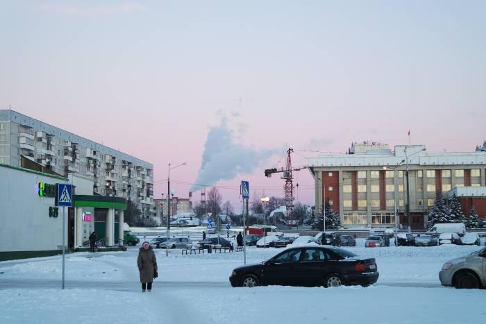 Замороженный Витебск. Фото Анастасии Вереск