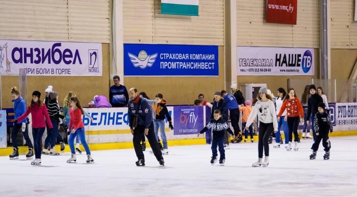 катания на коньках