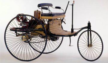 Так выглядел первый автомобиль Карла Бенца. Фото httpgpmar.rupage18.php