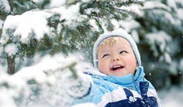 зима мальчик