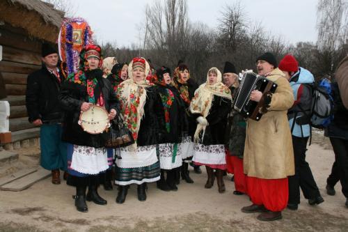 Первый день Нового года белорусы встречали весело. Фото koluda.ru
