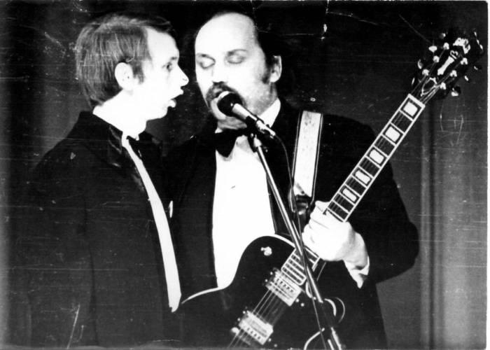 Концерт во Дворце культуры работников легкой промышленности г.Витебска, 1972 год. Источник pesnyary.com