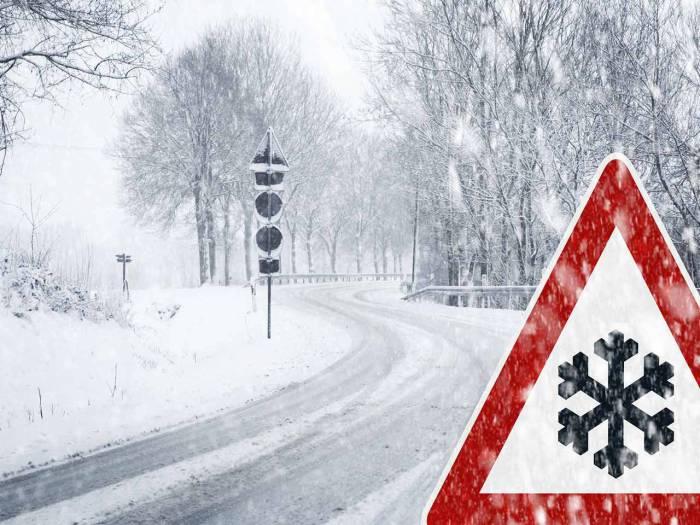 зима дорога