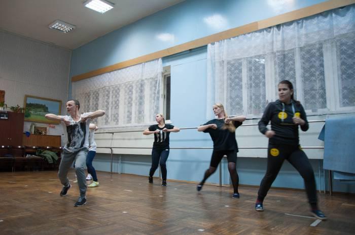 Занятия в старшей группе студии. Фото Анастасии Вереск