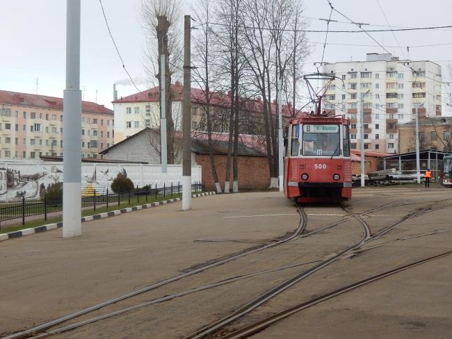 Витебский трамвай. Фото Евгения Москвина