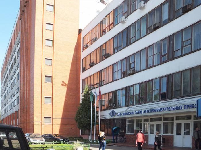 Сегодня на месте Витебской очковой фабрики располагается ВЗЭП. Фото kbtehnab.ru