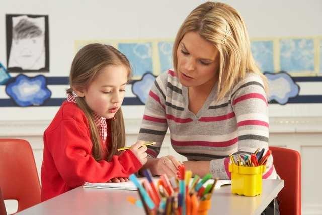 Чаще всего родители проводят время с детьми за уроками. Фото apruo.ru